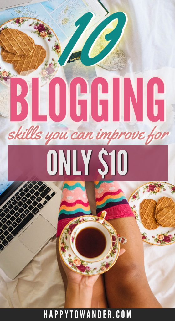 Improve your blogging skills for only $10! Check out this epic list of courses on sale for only $10 for a wide variety of topics like photography, video editing, graphic design, analytics and more.