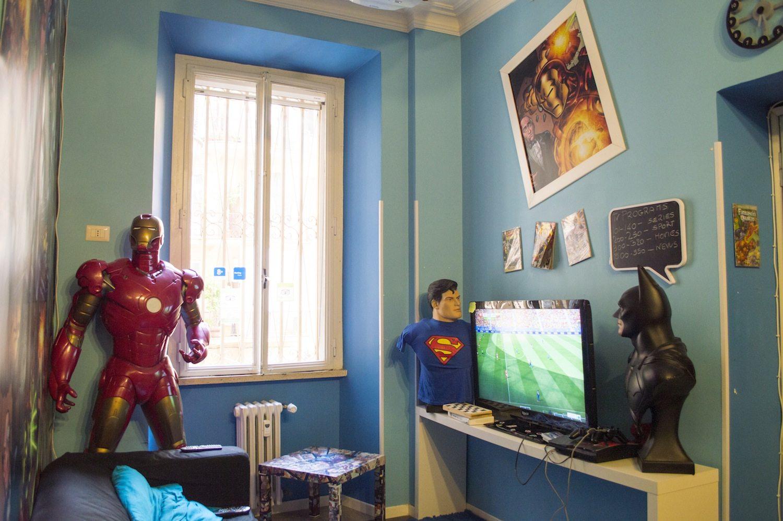 Comics Guesthouse, Rome by Christina Guan