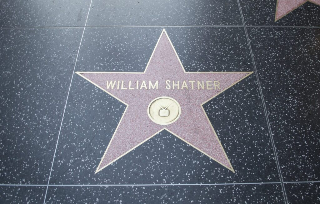 William Shatner's star by Christina Guan