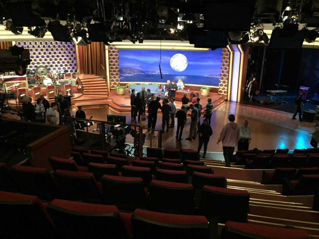 Conan taping by Christina Guan
