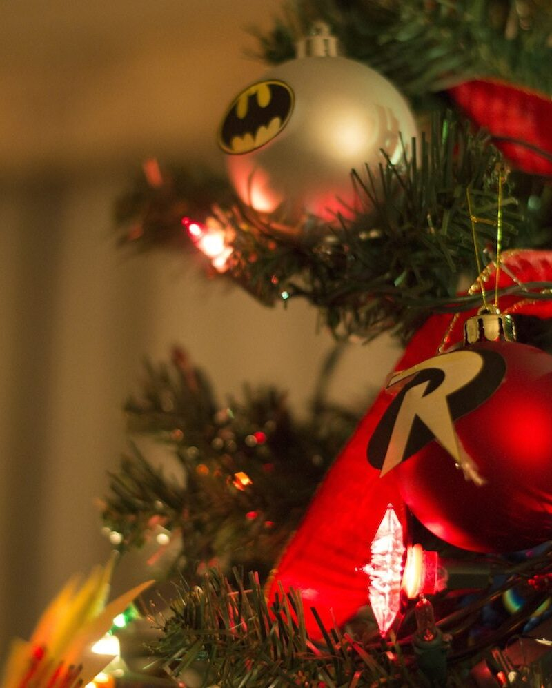 Superhero Christmas Tree by Christina Guan