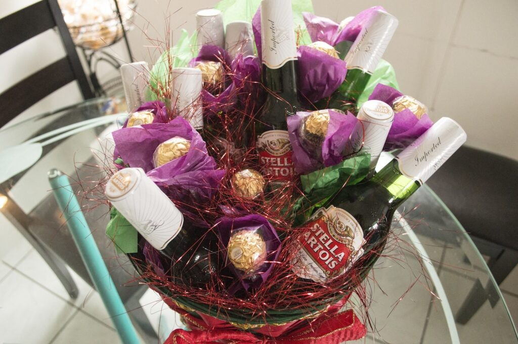 Beer Bouquet by Christina Guan