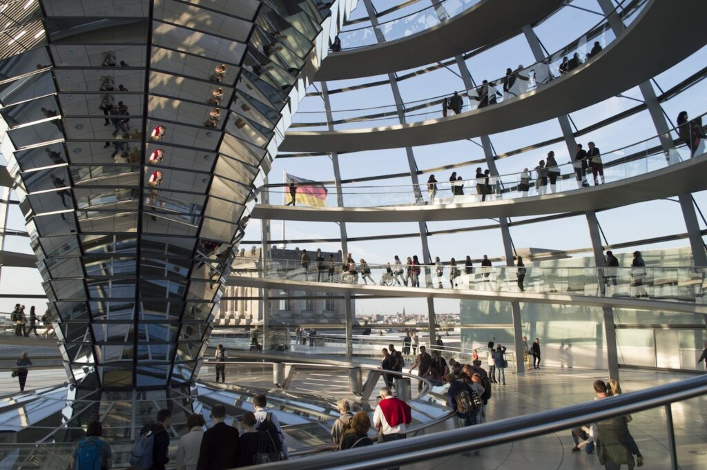 The Reichstag in Berlin by Christina Guan