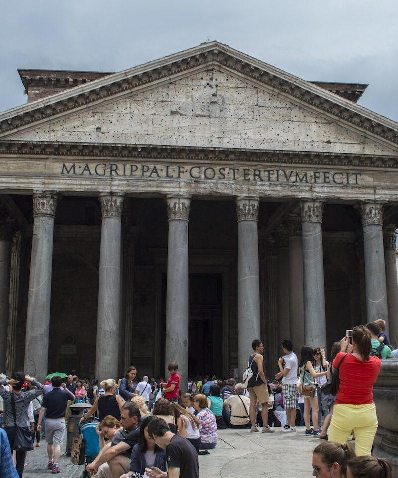 Pantheon Rome by Christina Guan