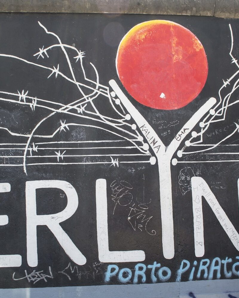 East Side Gallery by Christina Guan