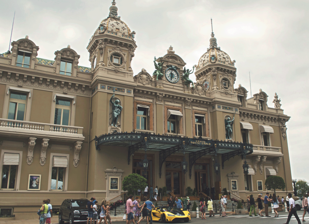 Monte Carlo Casino by Christina Guan