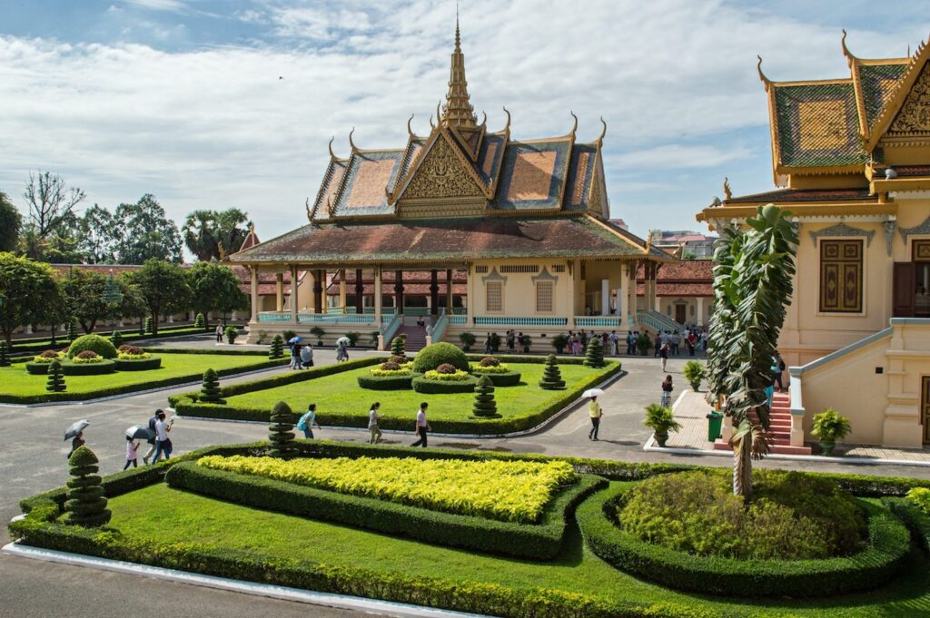 Royal Palace phnom Penh by Christina Guan