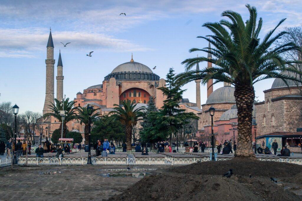Haga Sophia, Istanbul by Christina Guan