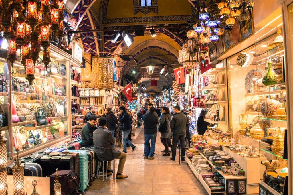 Grand Bazaar, Istanbul by Christina Guan