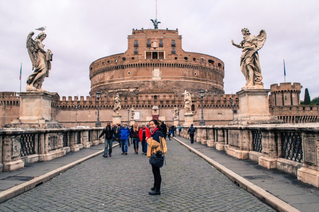 Castel Sant'Angelo, Rome by Christina Guan
