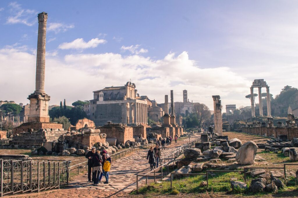 Roman Forum by Christina Guan
