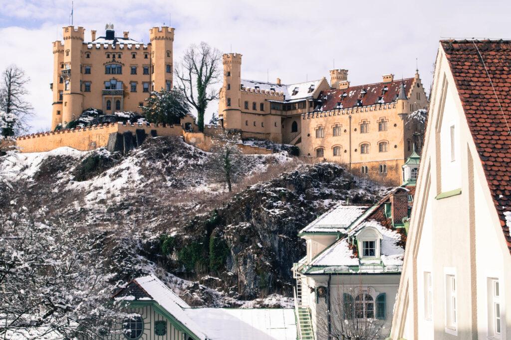 Hohenschwangau Castle by Christina Guan
