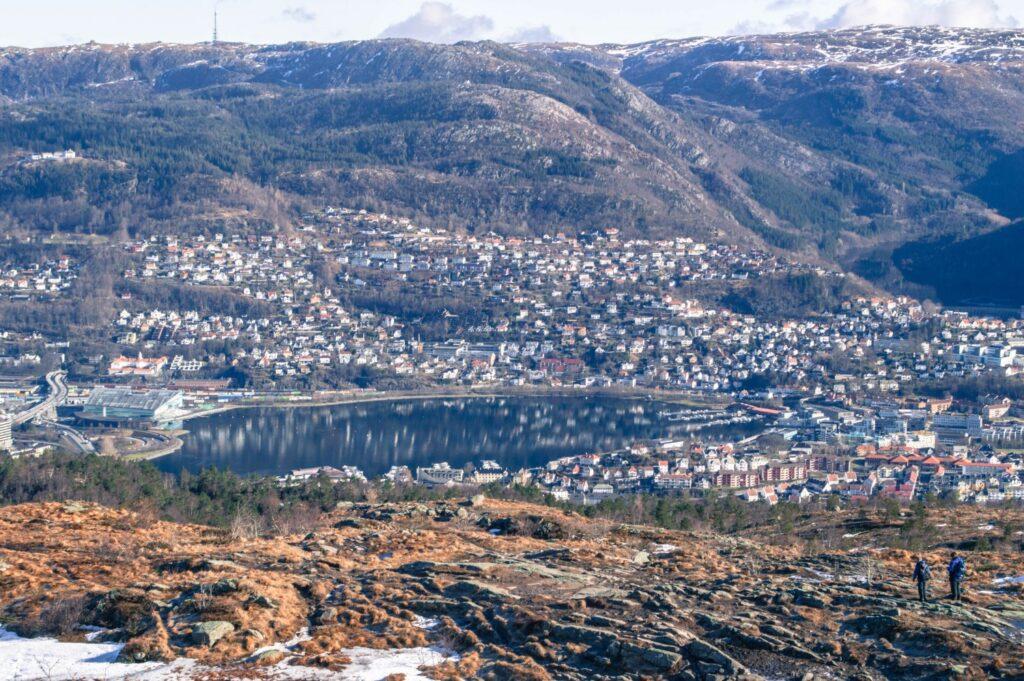 Lovstakken view, Bergen