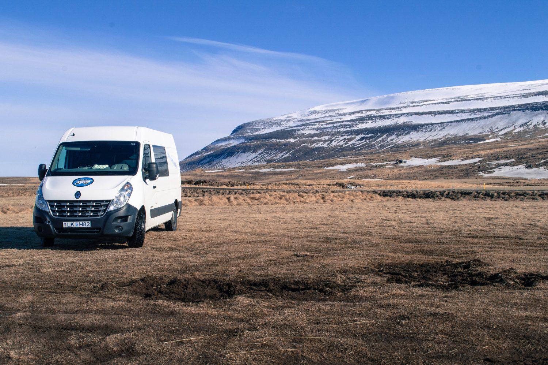 Kukucampers Van in Iceland
