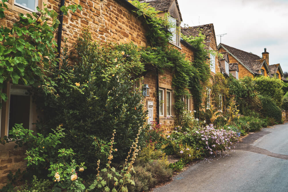 Adlestrop, England in the Cotswolds