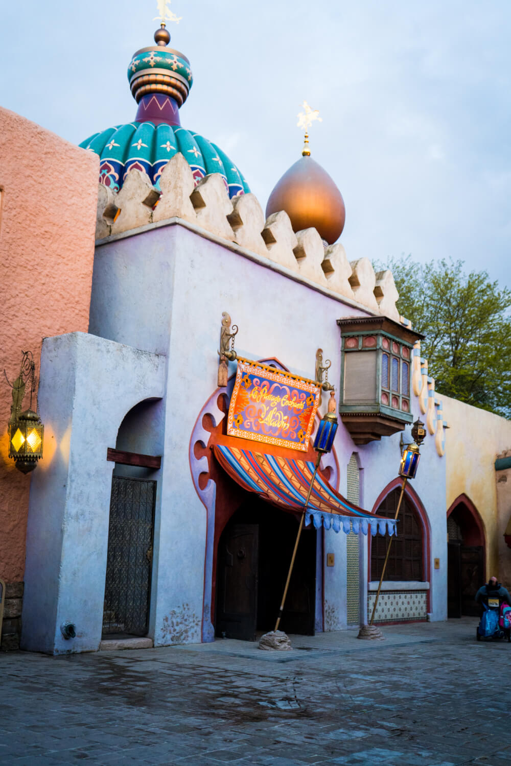 Aladdin's Enchanted Passage at Disneyland Paris