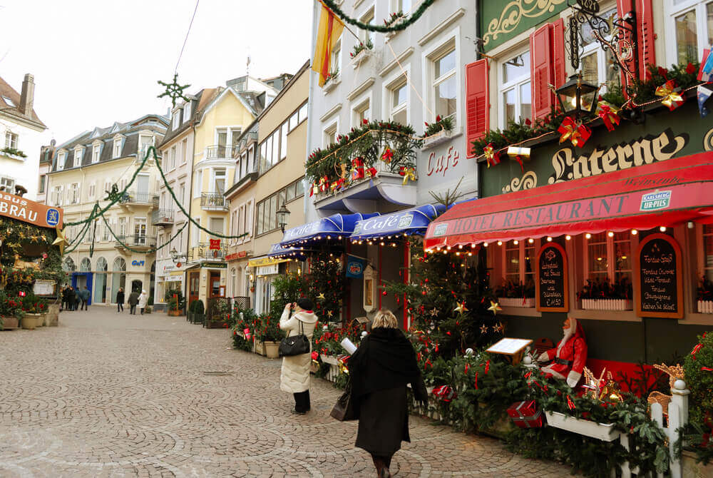 Baden-Baden Christmas Market, one of the best Christmas markets in Germany