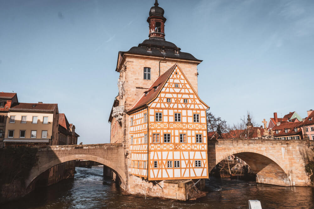 Town hall in Bamberg, Germany
