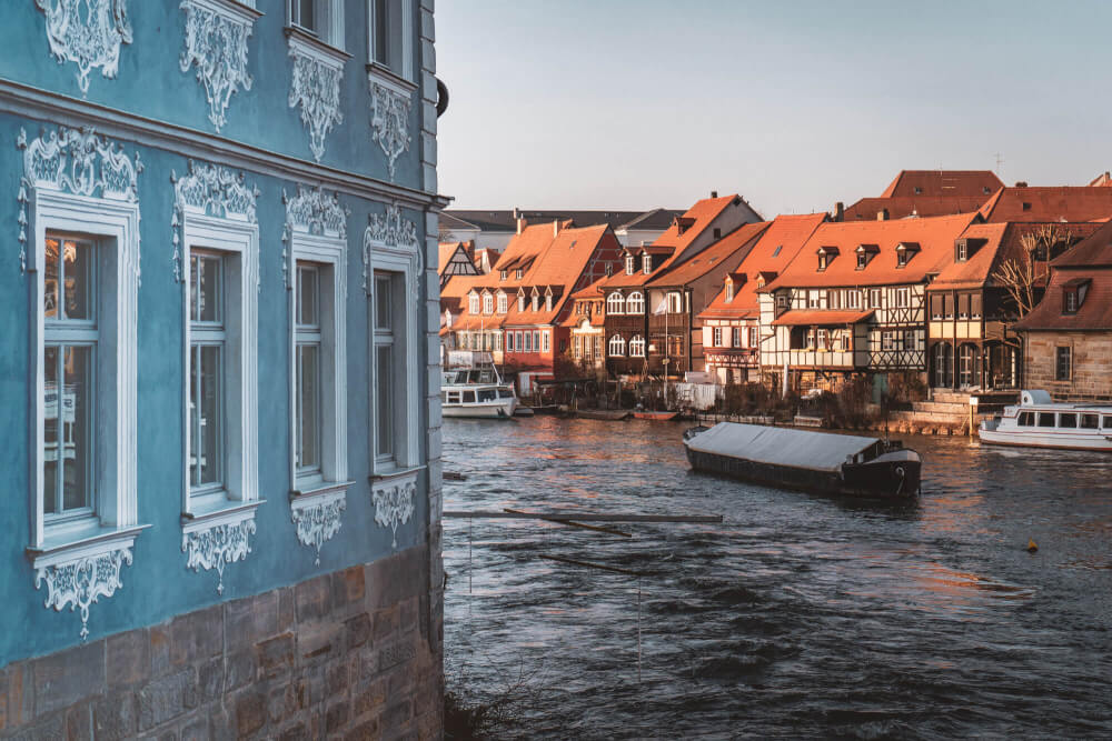 Bamberg, Germany at golden hour