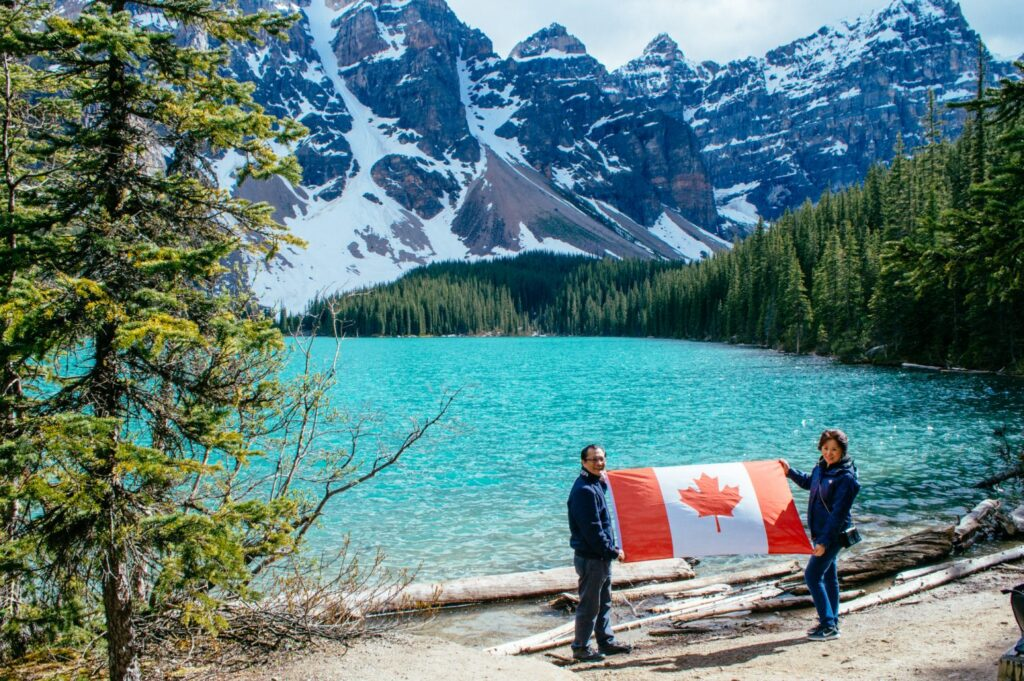 A heartwarming story about family, travel and the Canadian Rockies. Here's the story of how one travel blogger surprised her parents with a getaway at their dream hotel (the Fairmont Chateau Lake Louise) for Father's Day.