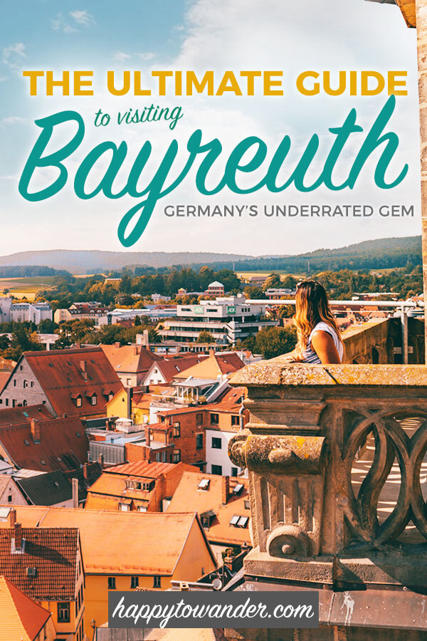 The ultimate guide to beautiful Bayreuth, Germany. This post is everything you need to read before you travel to Bayreuth, including things to do in Bayreuth, beautiful Bayreuth photography and where to stay. #Bayreuth #Germany