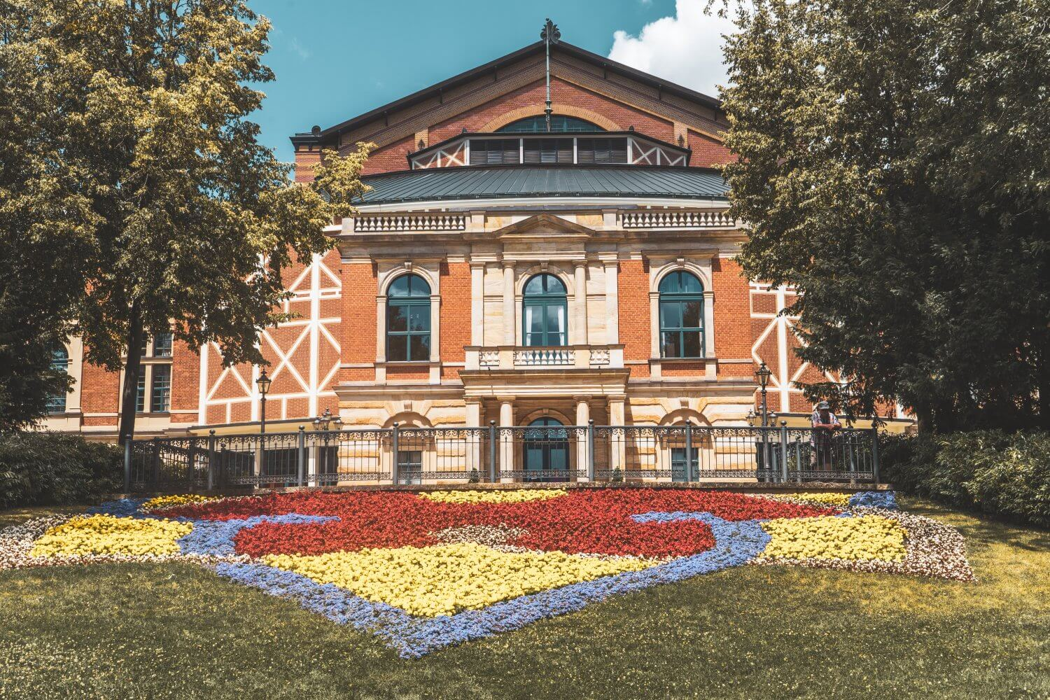 Wagner Festspielhaus in Bayreuth, Germany