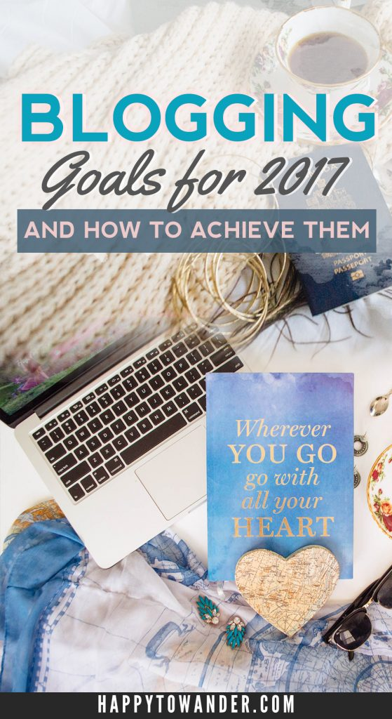 CRUSH your blogging goals in 2017! Here are 6 epic goals to reach for in the new year, along with action items and steps on how to achieve them.