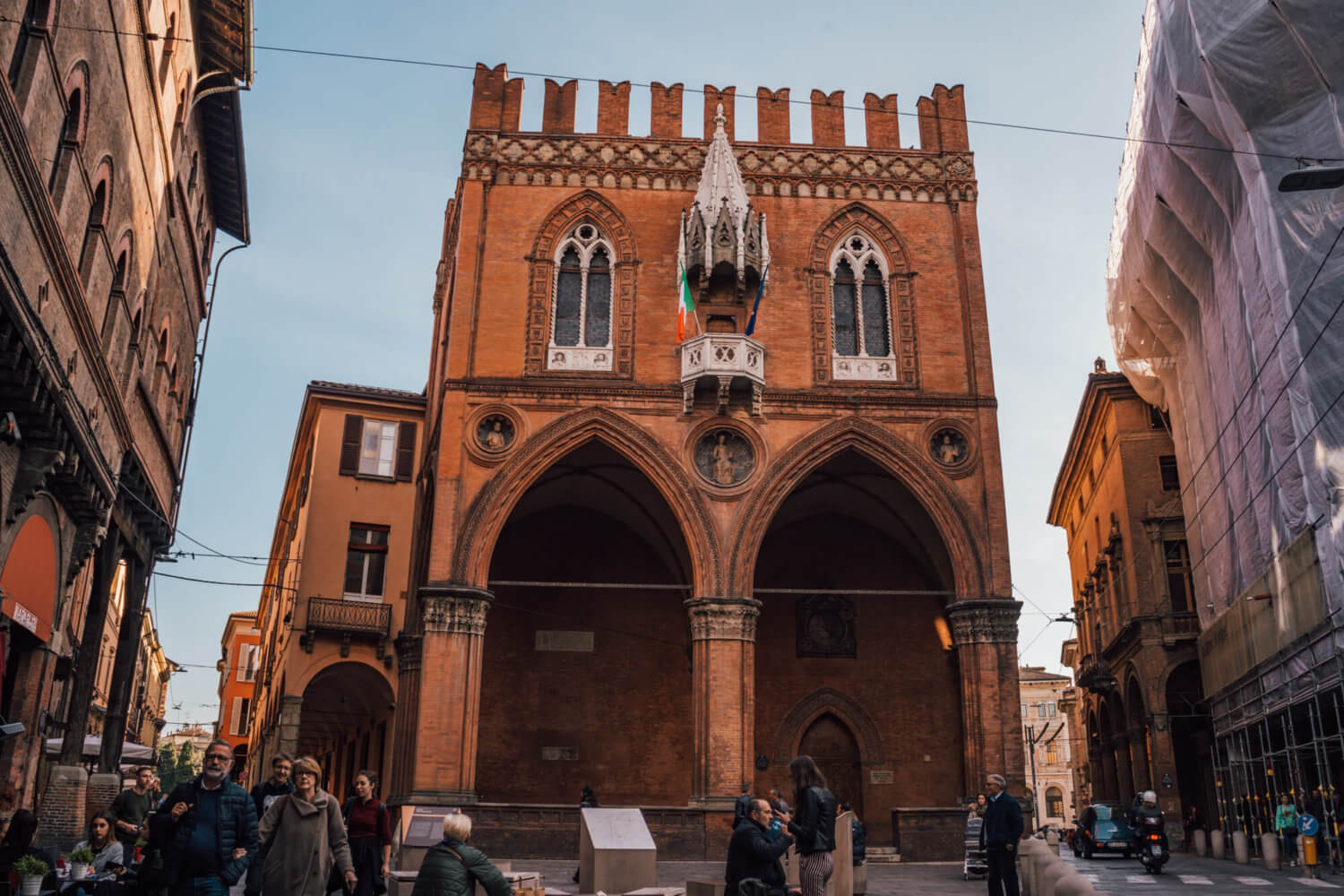 The Chamber of Commerce in Bologna, Italy