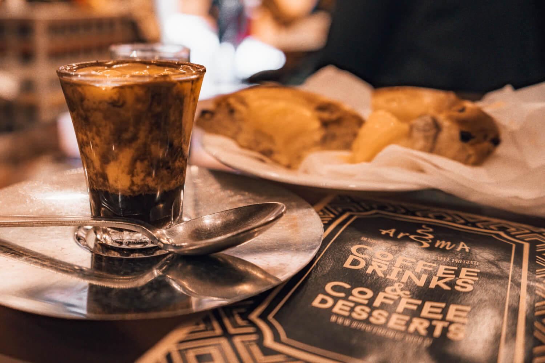 Delicious Caffè allo Zabaione from Bar Aroma in Bologna