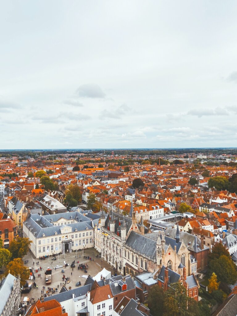 Bruges view from the Belfry