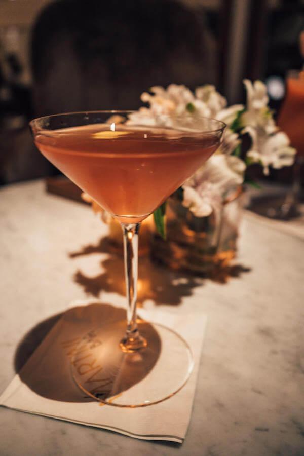 Martini bar on board the Celebrity Edge