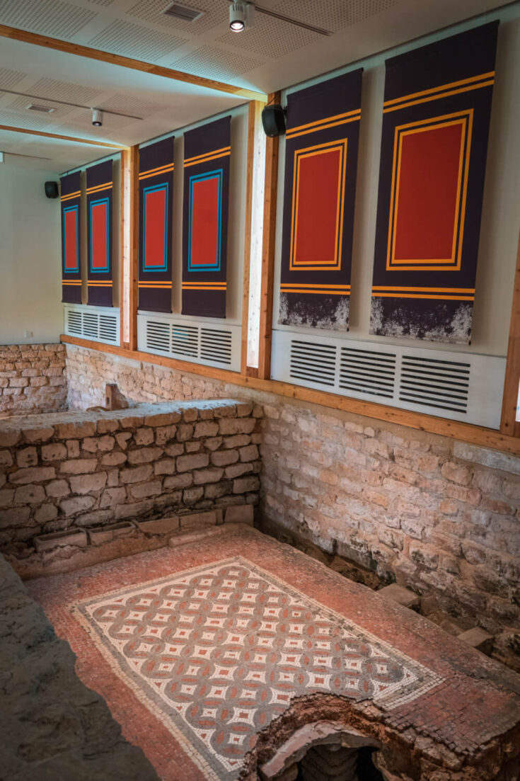 Chedworth Roman Villa in the Cotswolds