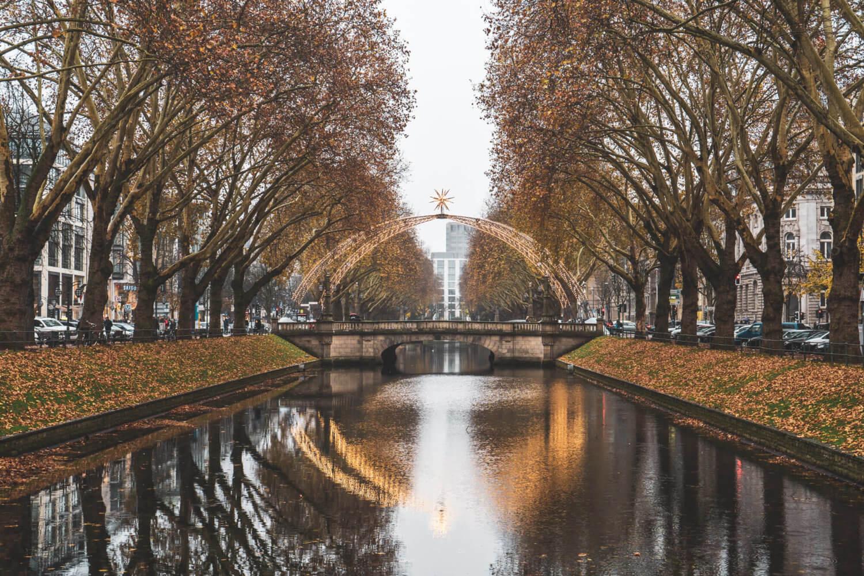 Konigsallee in Dusseldorf, Germany