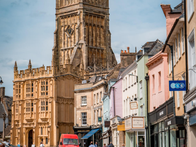 Cirencester in the Cotswolds, Englan
