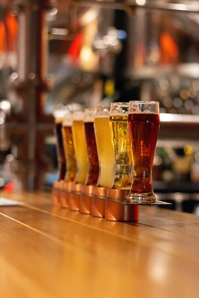 Craft beer tasters