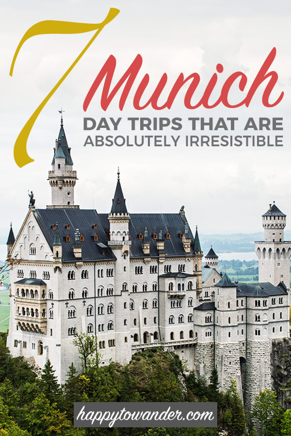 A list of THE best summer day trips from Munich, Germany. If you're looking for awesome things to do in Munich and plan to escape the city for a bit, whether for amazing castles, beautiful lakes, mindblowing nature or whatever else, this list has you covered! #Munich #Germany #Bavaria #DayTrips #Europe