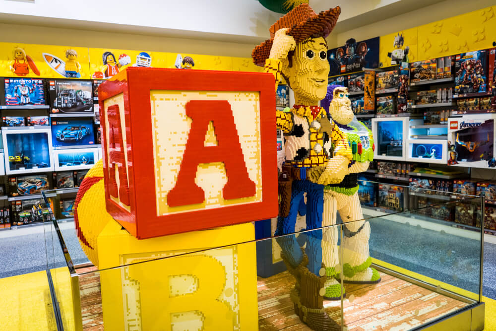 LEGO Store at Disney Village at Disneyland Paris