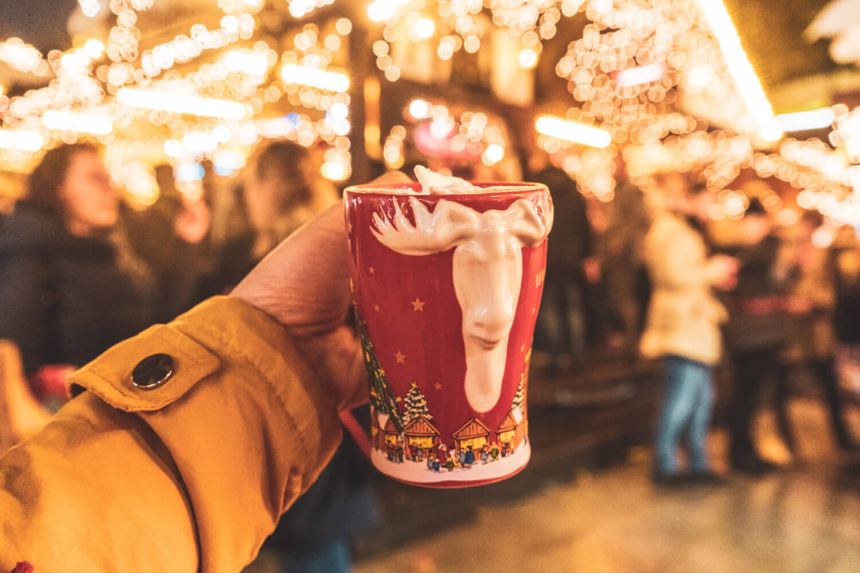 Glühwein mug from Dortmund Christmas Market