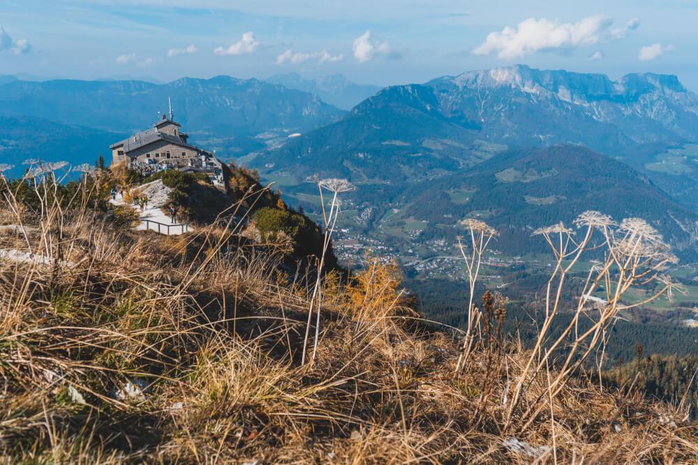 View of Hitler's Eagle's Nest in Berchtesgaden National Park