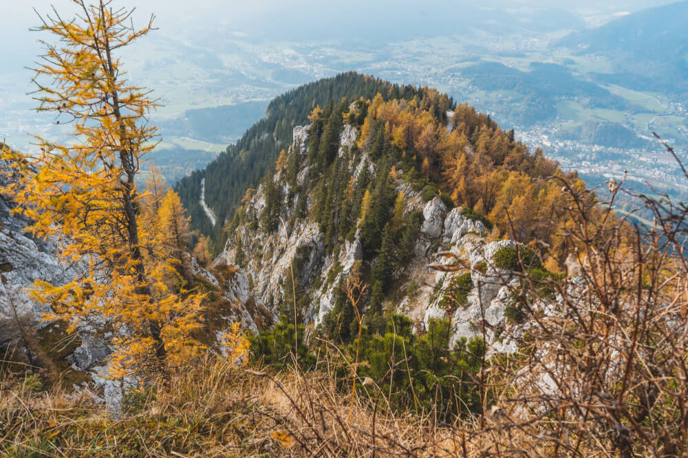 View from the Eagle's Nest in Germany, AKA the Kehlsteinhaus