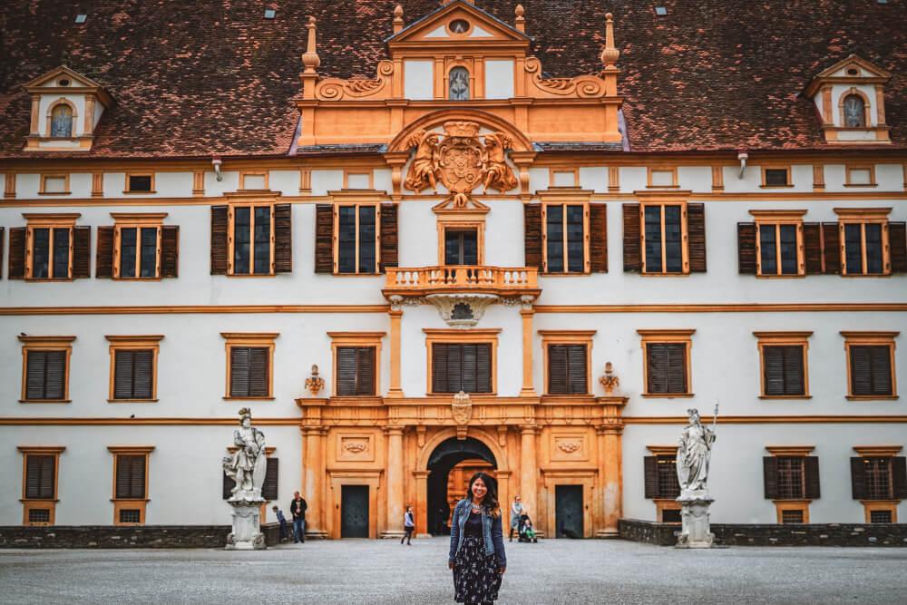 Eggenburg Palace in Graz, Austria