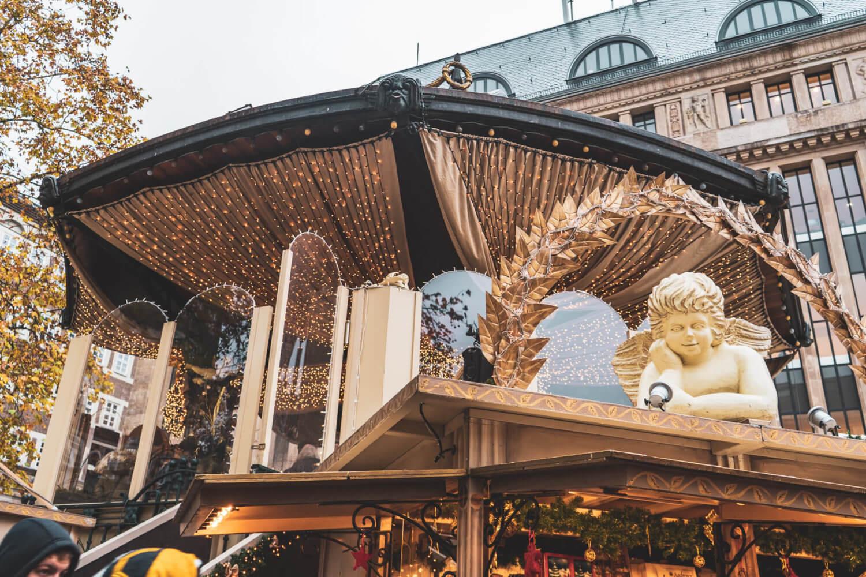 The Engelchen-Markt in Dusseldorf