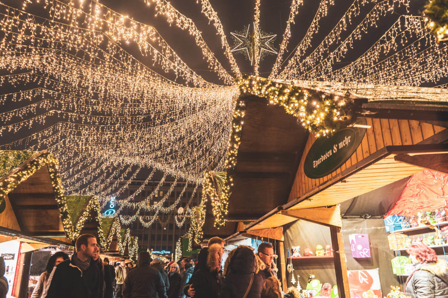 Essen Christmas Market, one of the best Christmas markets in Germany