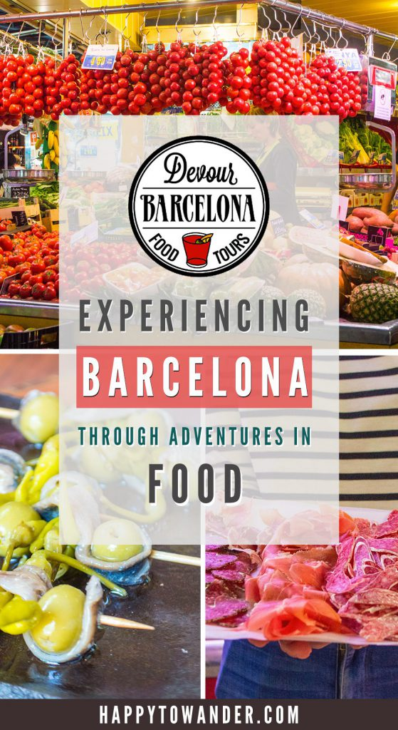 Food is BY FAR the best way to experience the incredible city of Barcelona! Devour the best food in the city through a food tour and it's a decision you won't regret. Click through for droolworthy photos and foodspiration for your next visit to Barcelona.