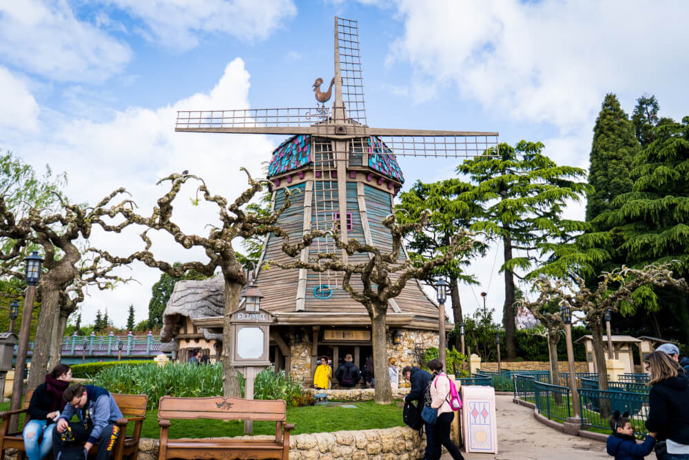 The Old Mill at Disneyland Paris, named after a classic Disney cartoon