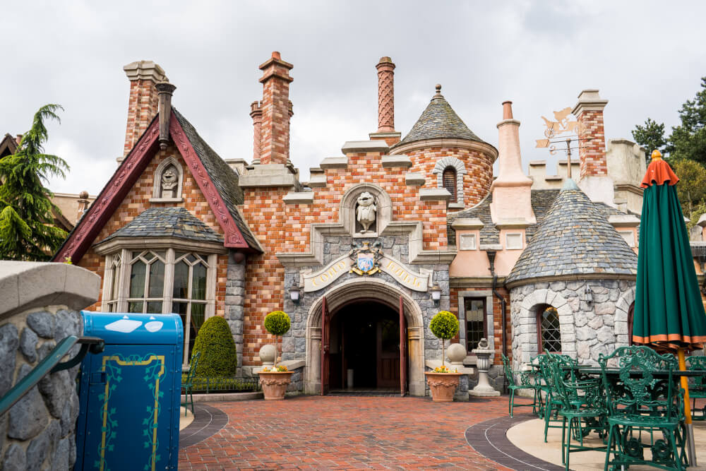 Mr. Toad's manor at Disneyland Paris