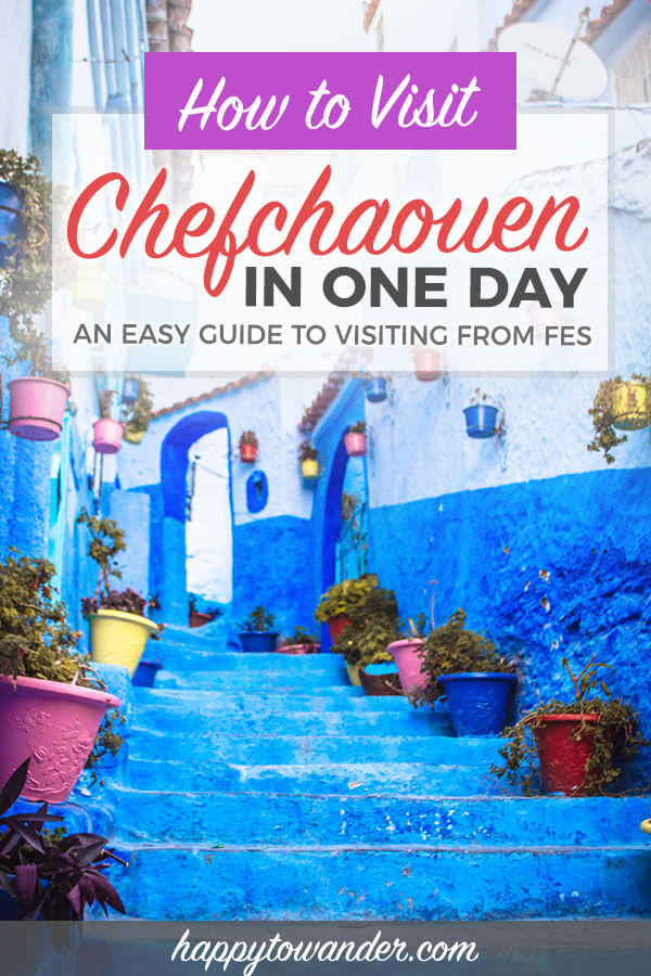 THE best guide for visiting Chefchaouen, Morocco's blue pearl as a day trip from Fes. Learn important tips on how to get from Fes to Chefchaouen, things to do in Chefchaouen and more. #travel #morocco