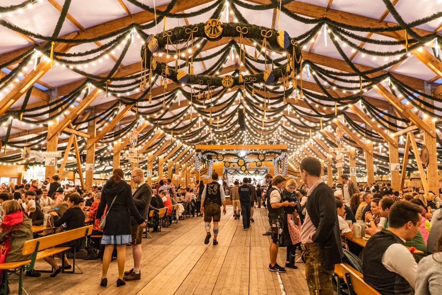 Festzelt Tradition at Oktoberfest in Munich, Germany