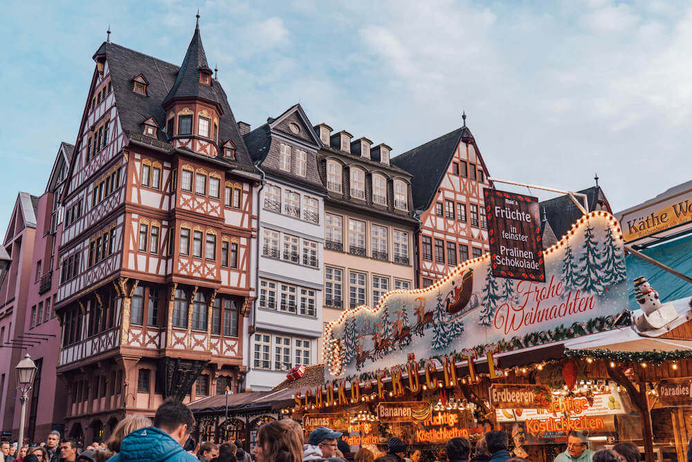 Frankfurt Christmas Market, one of the best Christmas markets in Germany