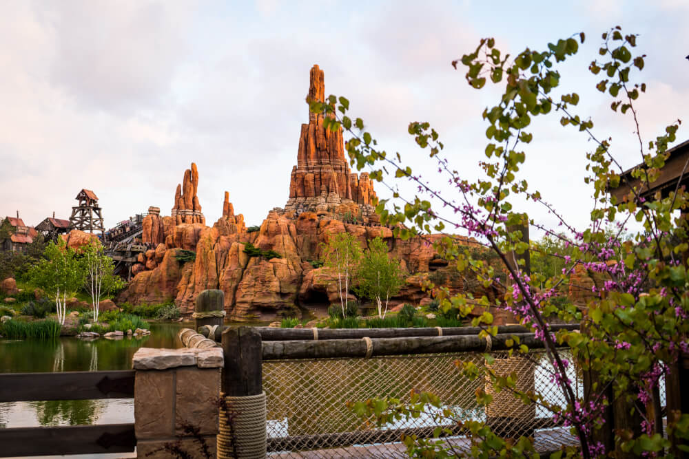 Frontierland at Disneyland Paris